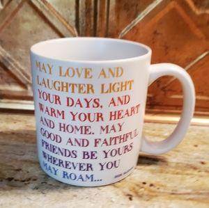 Irish Blessing mug excellent condition